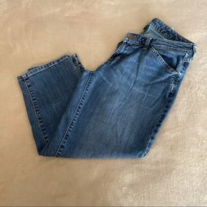 Eddie Bauer Crop 3/4 Jeans - Size 6